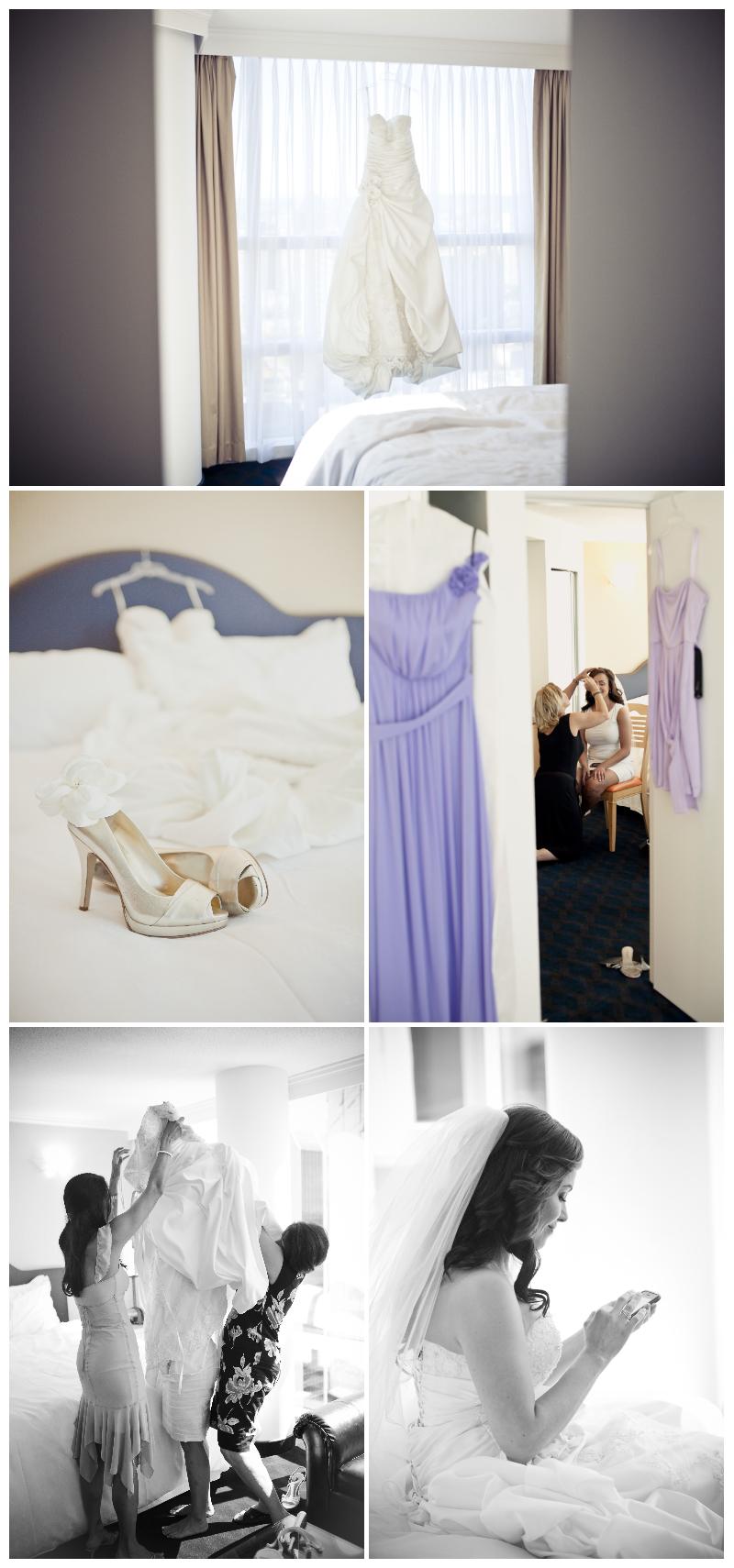 wall centre, bridal, getting ready, wedding dress