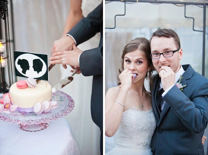 macaron wedding cake, abbotsford wedding