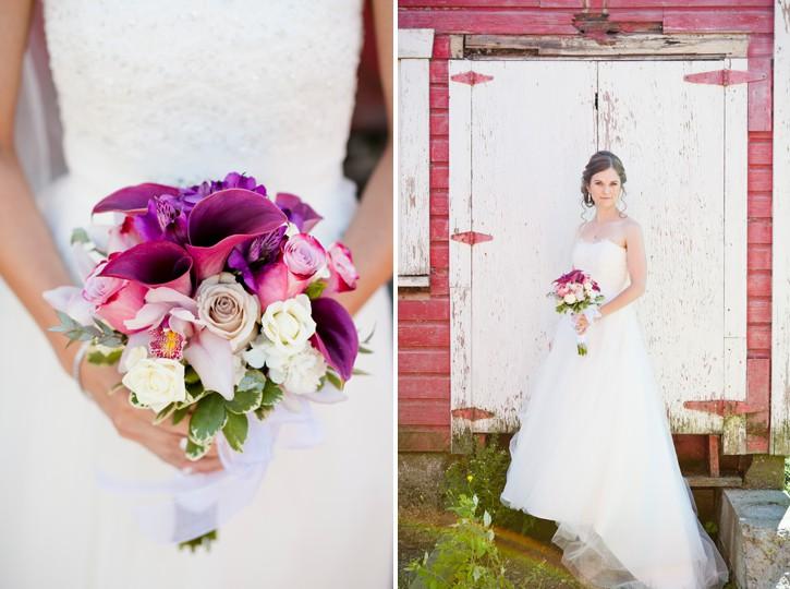 saar bank farms bridal portrait, bouquet, bride