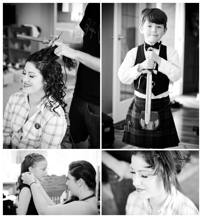 wedding photos getting ready