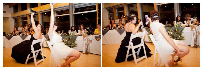 lesbian wedding ubc boathouse shoe game