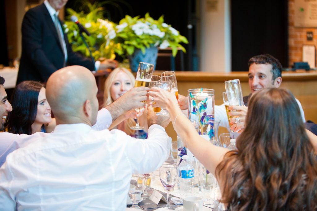 wedding toast inlet theatre
