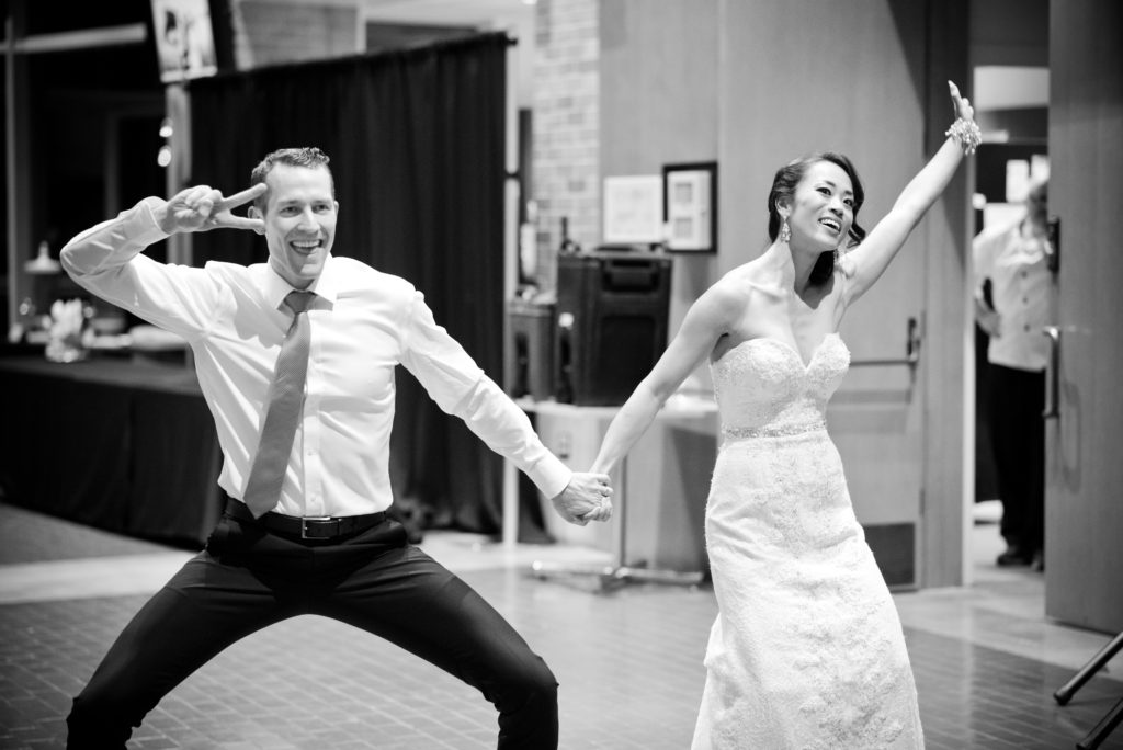 choreographed first dance bride and groom port moody
