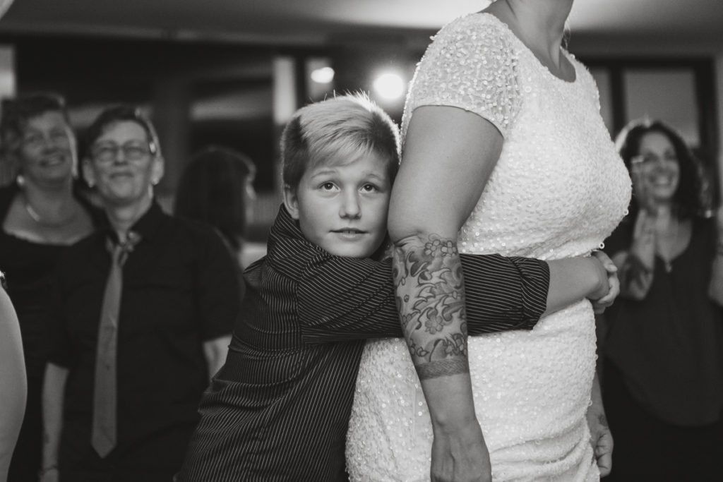 tattooed bride vancouver, unconventional wedding vancouver