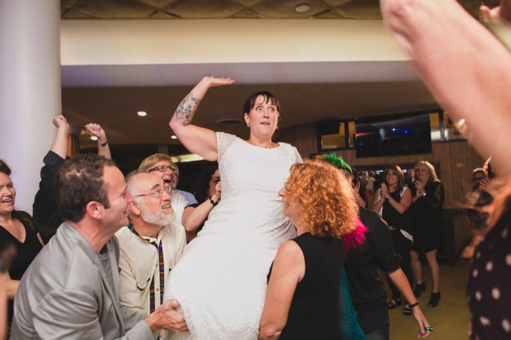 same-sex wedding hora queer as funk