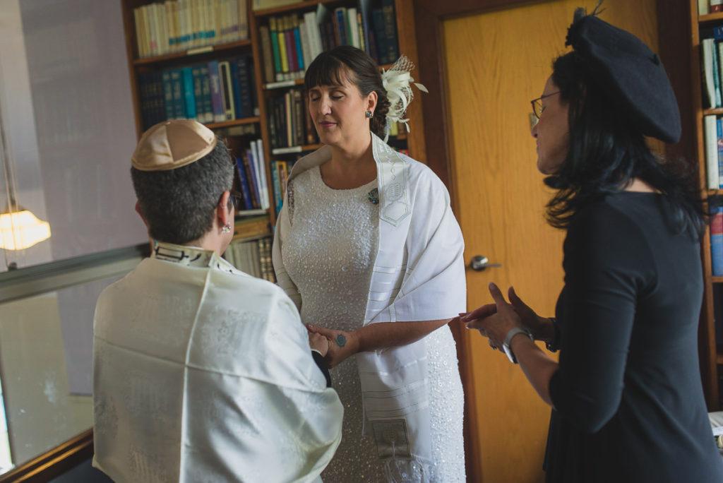 same sex jewish wedding, jewish wedding vancouver, or shalom synagogue