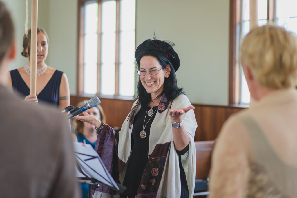 rabbi laura kaplan, vancouver synagogue wedding