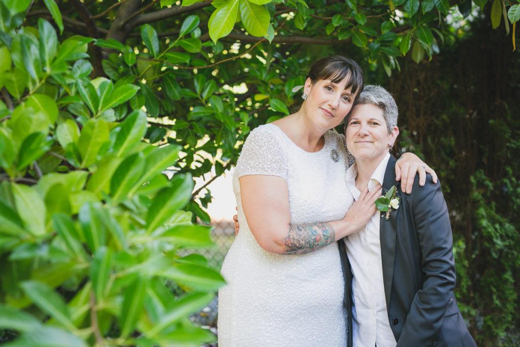 same-sex wedding vancouver, lgbt wedding portraits vancouver