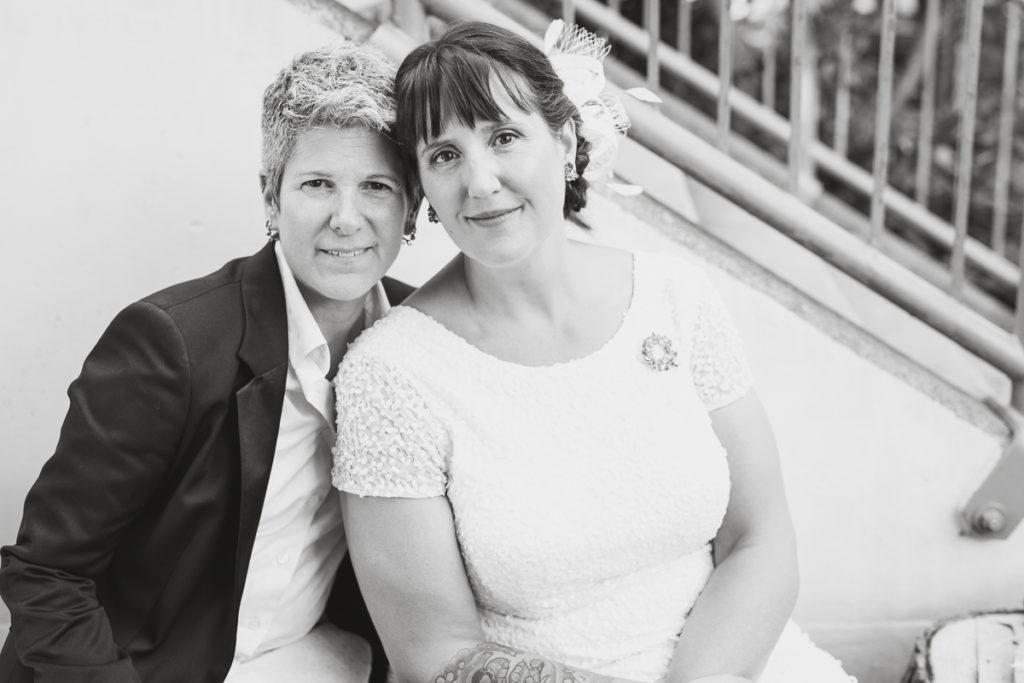 vancouver same-sex wedding photos