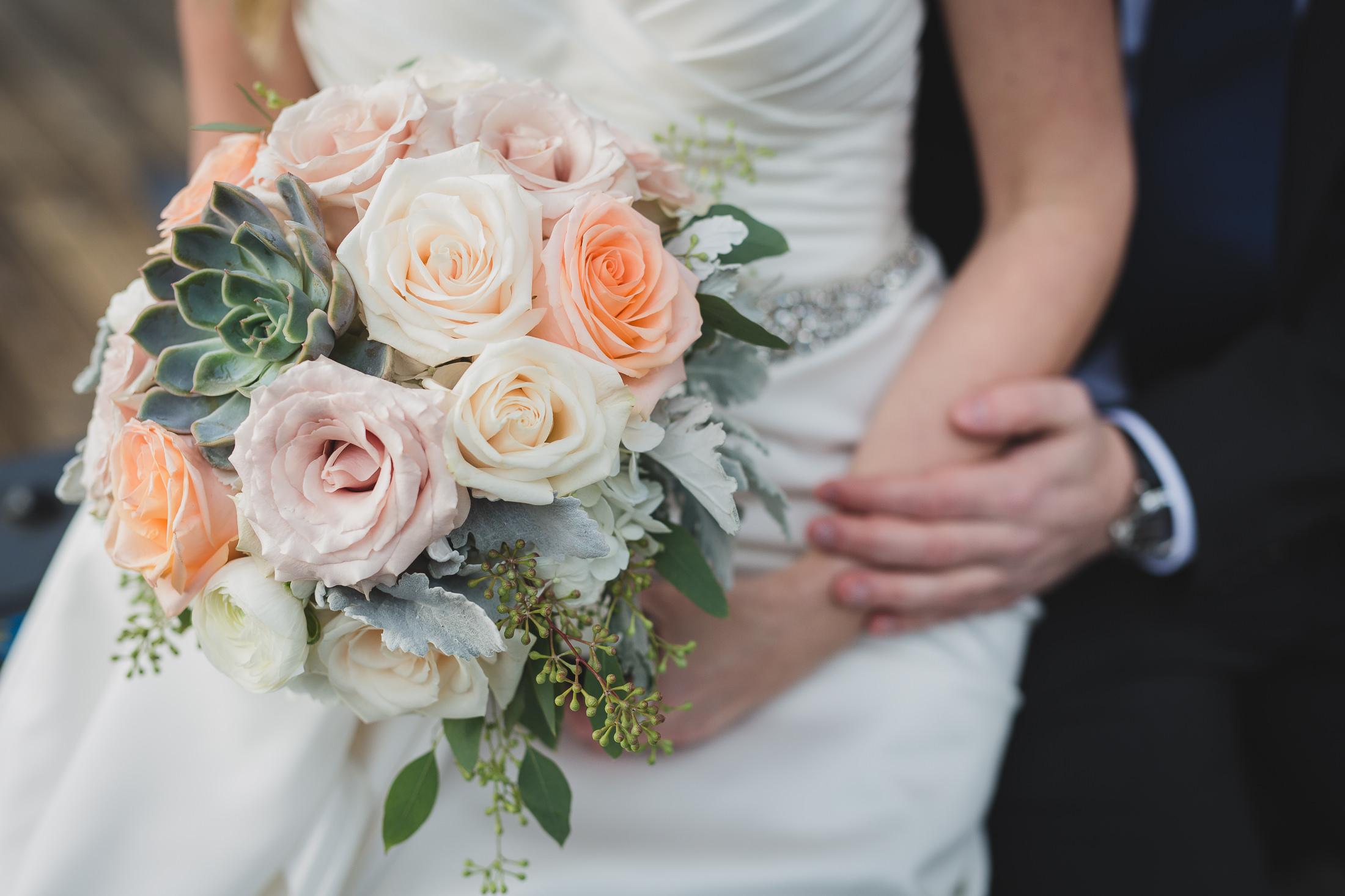budget blooms vancouver wedding bouquet