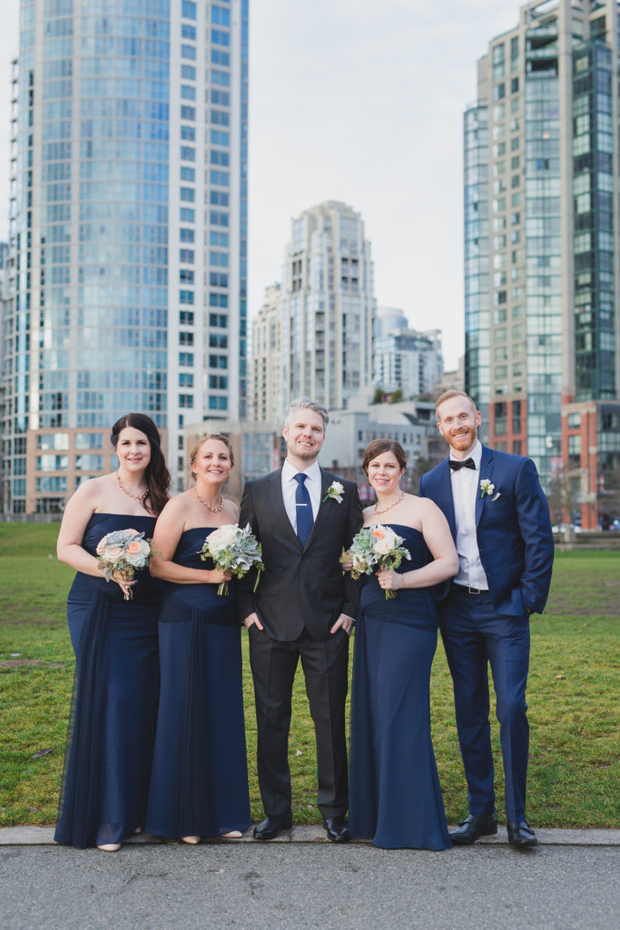 wedding photos in david lam park vancouver