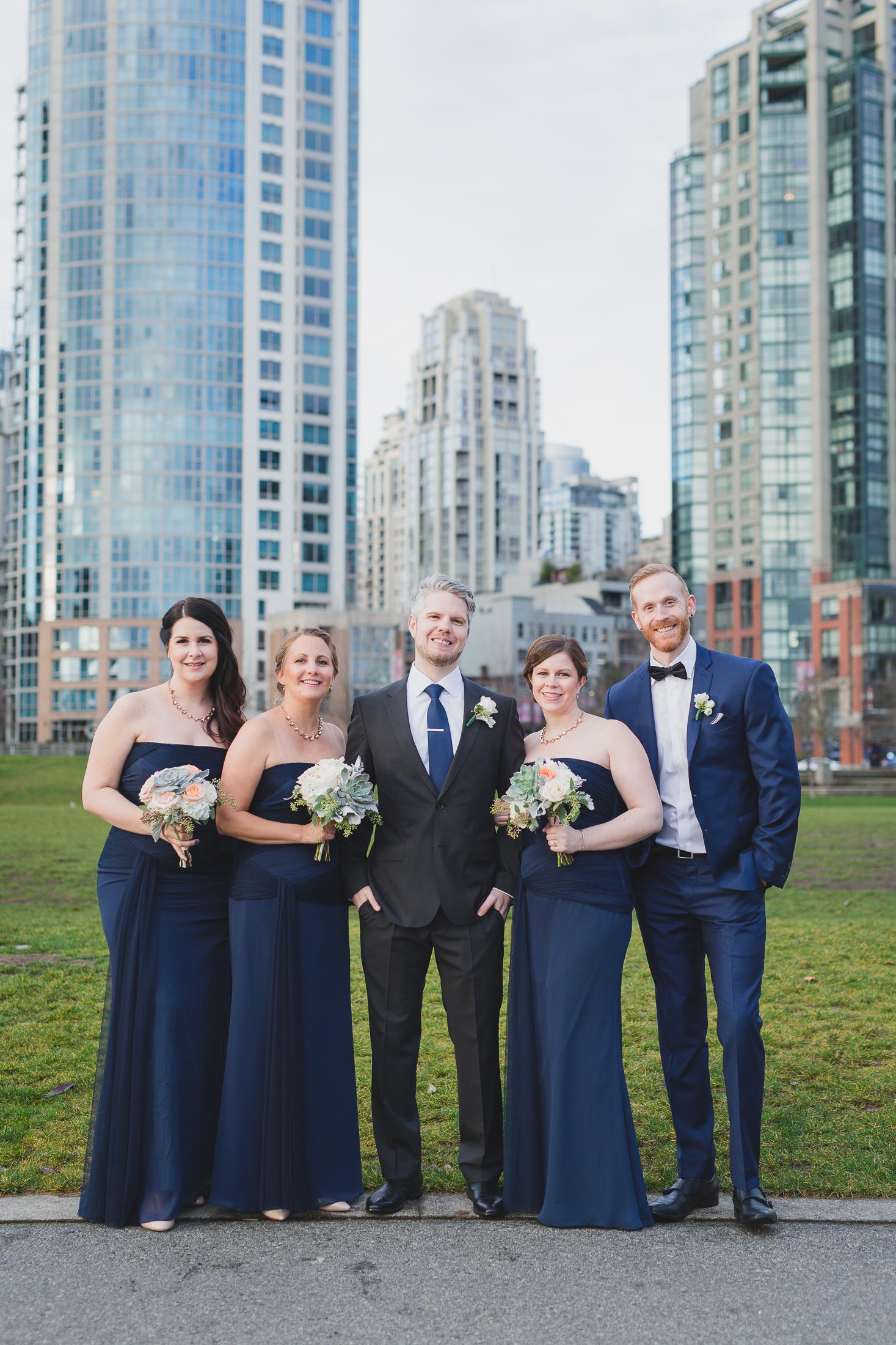 wedding photos in david lam park vancouver