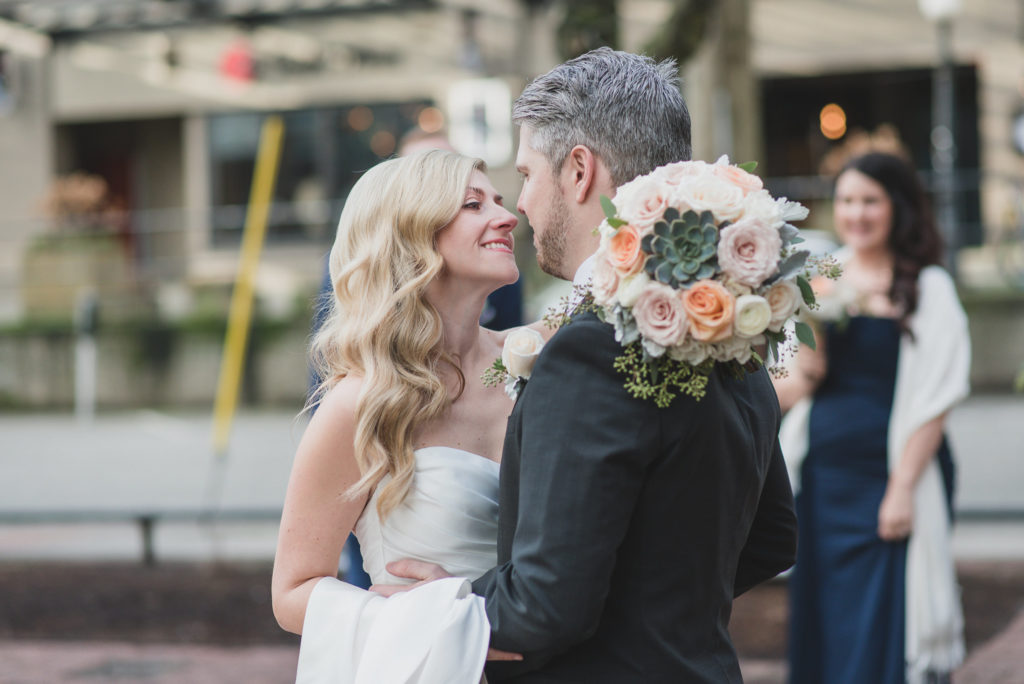 yaletown vancouver wedding photos