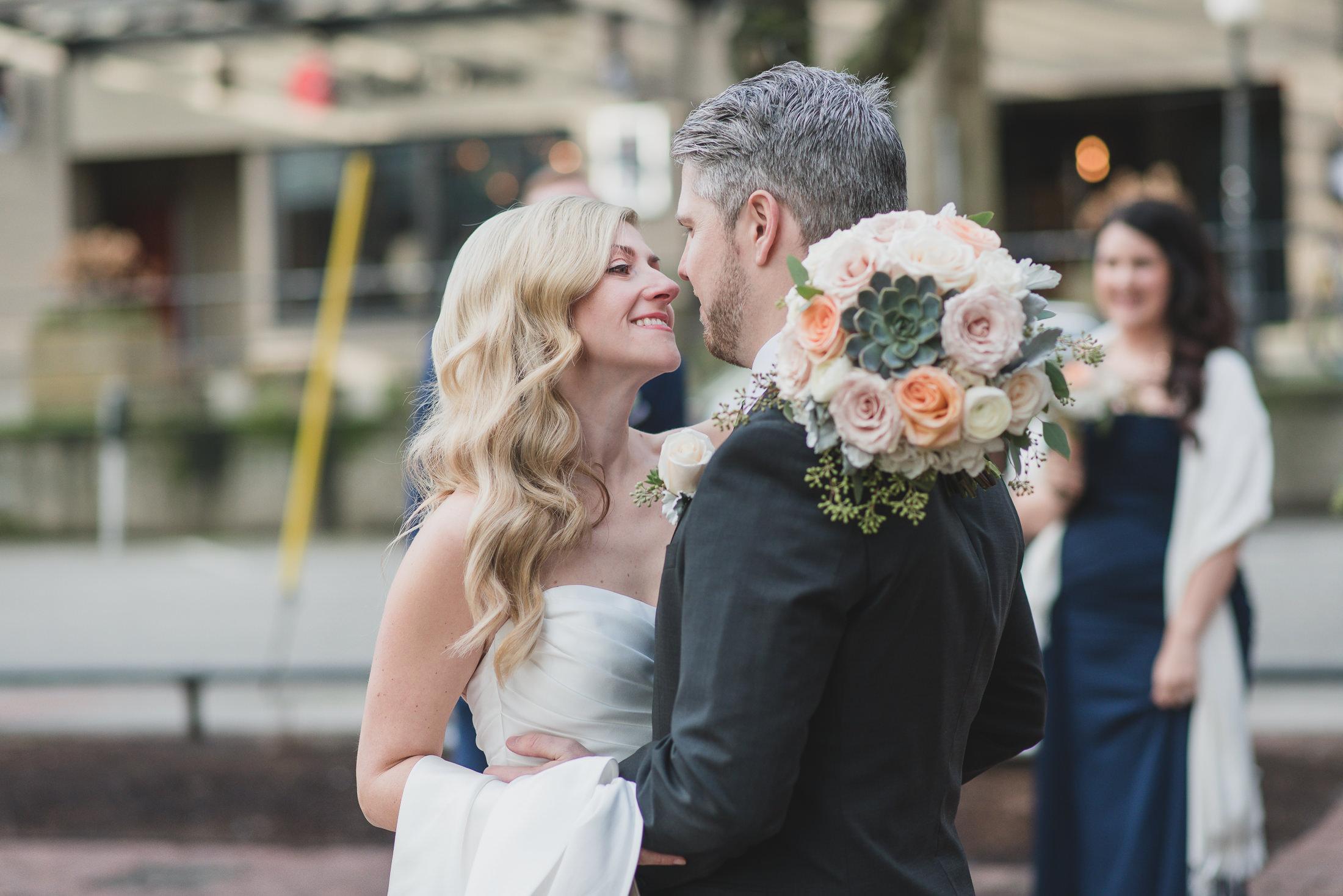 yaletown vancouver wedding photos