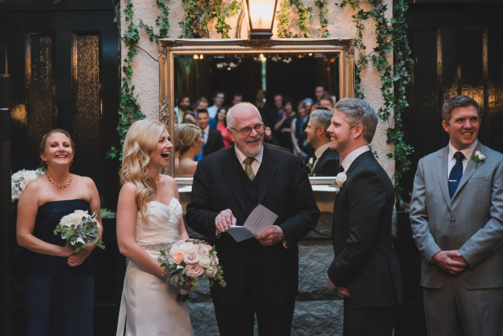 vancouver wedding with officiant doug cameron at brix