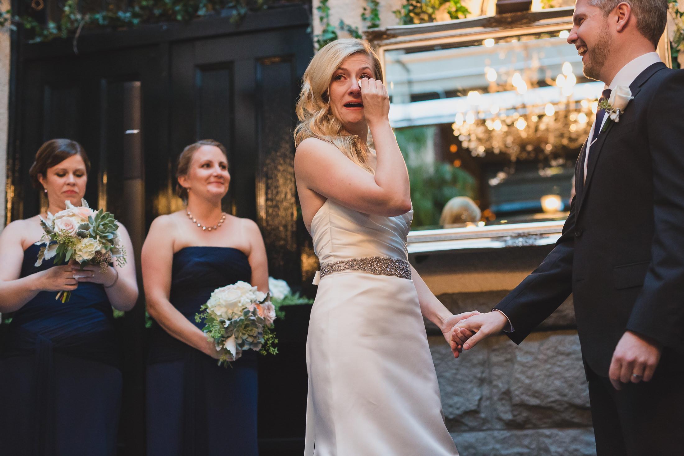 emotional bride vancouver wedding