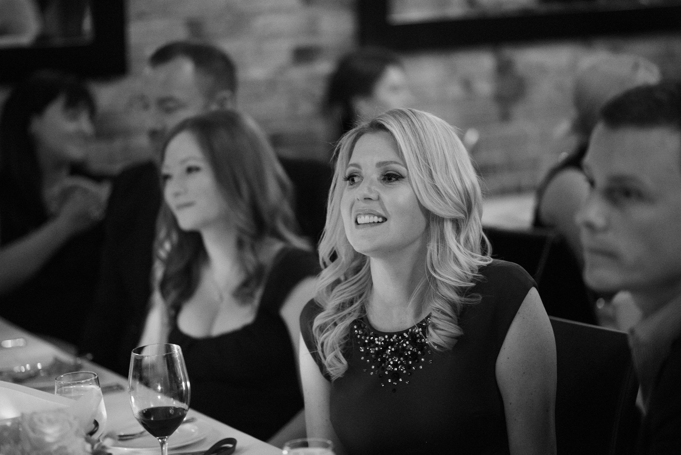 black and white wedding photos vancouver wedding reception at brix