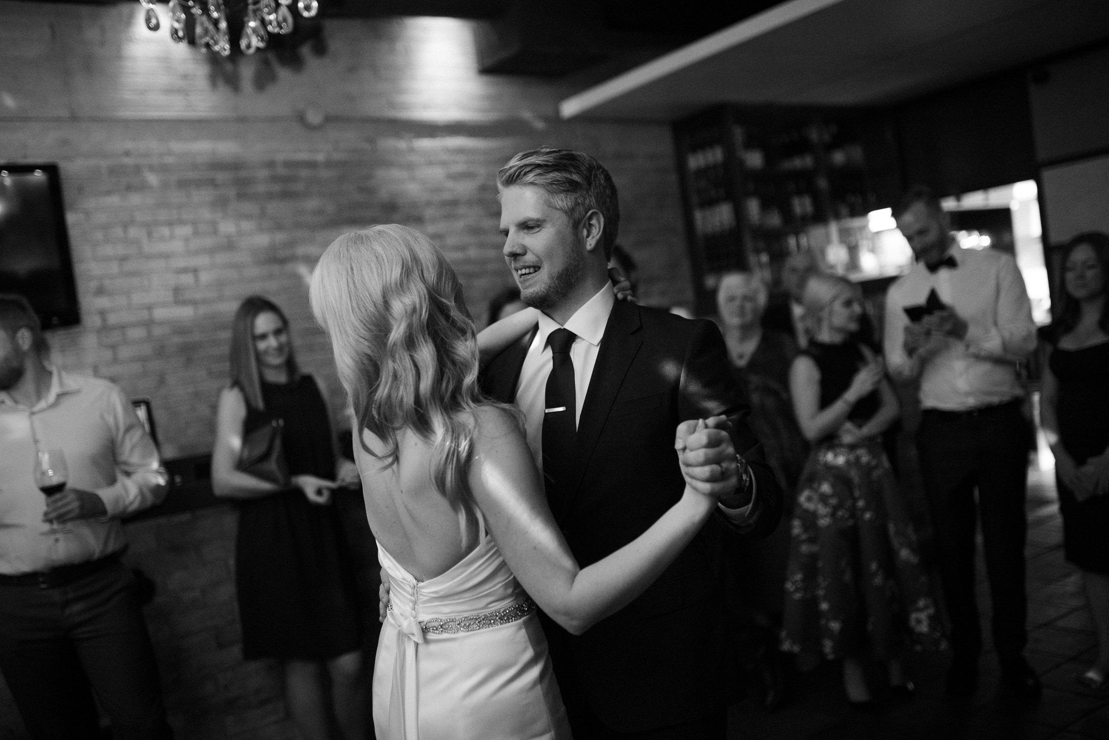 offbeat bride vancouver wedding first dance