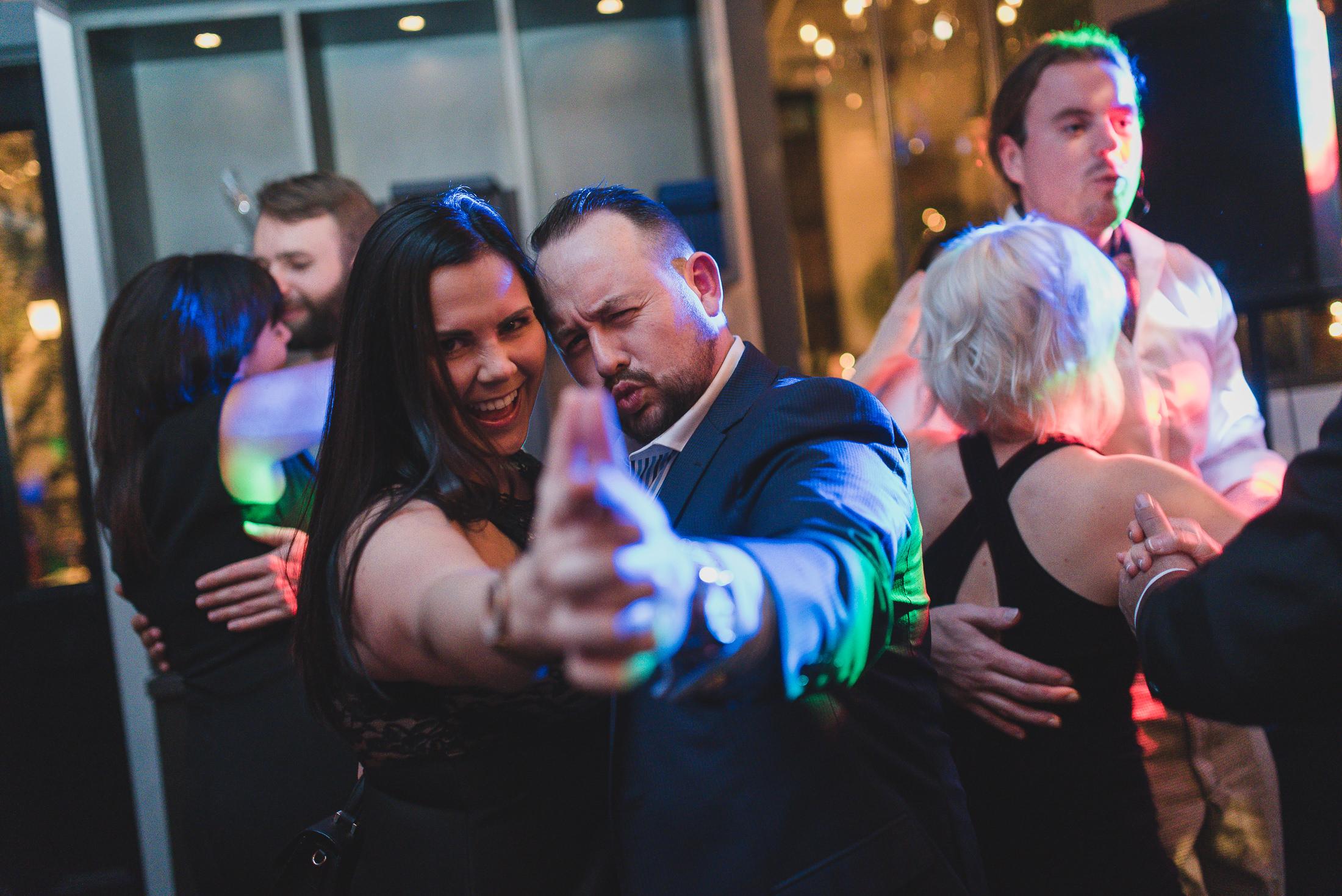 wedding reception dance party photos vancouver