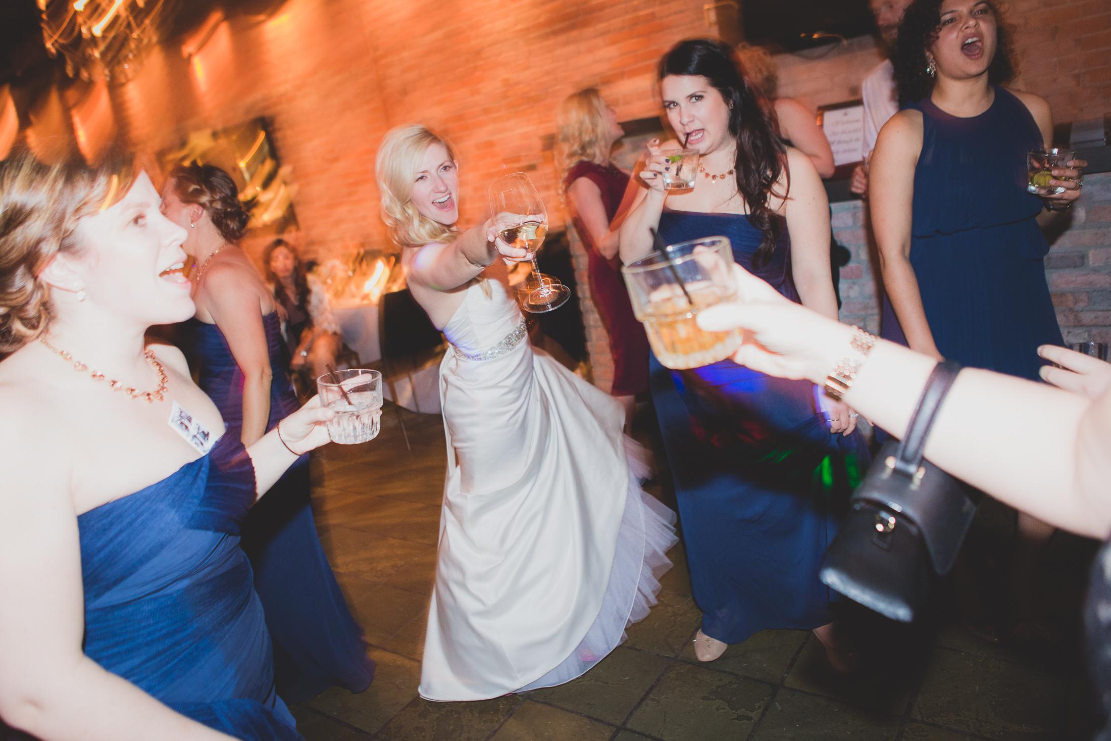 dancing bride vancouver wedding with DJBFAD