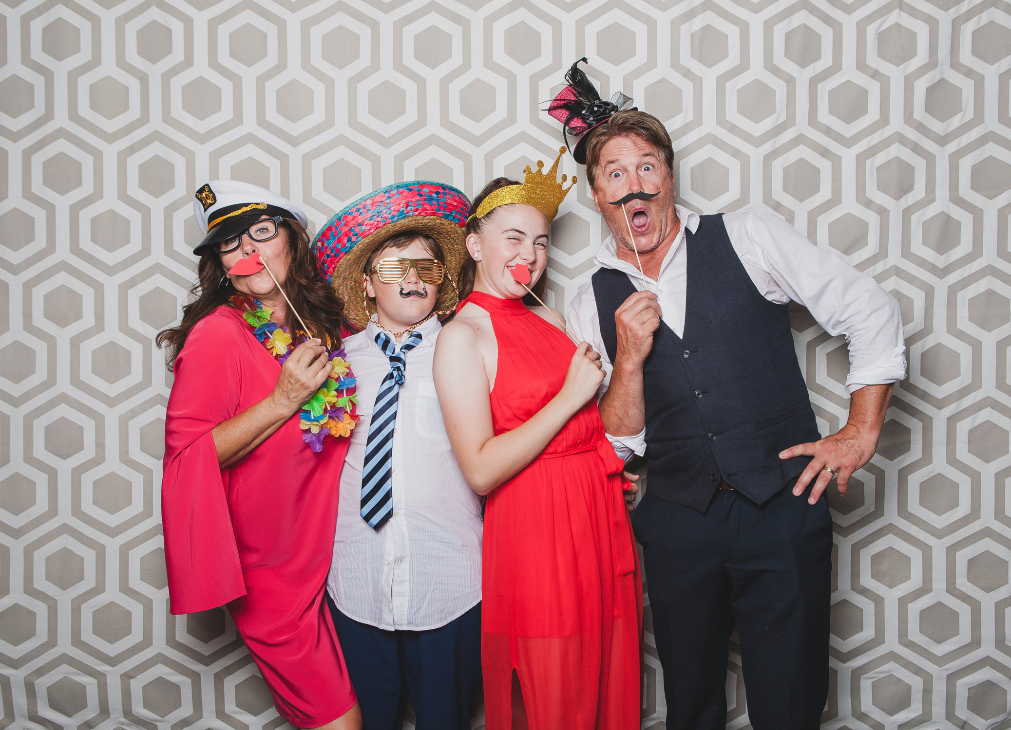 family fun in squamish photobooth portrait station