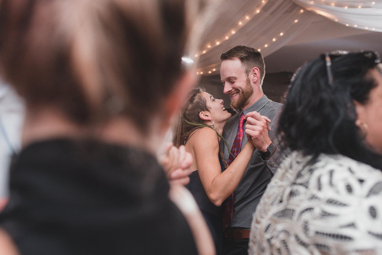Furry Creek wedding reception in Squamish dance floor