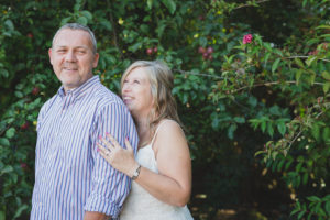 casual backyard wedding fraser valley second marriage