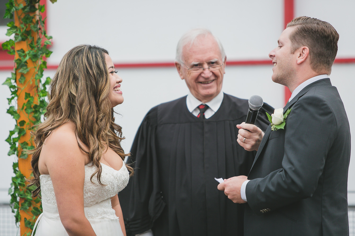 fun alternative wedding ceremony vancouver clarence ash officiant