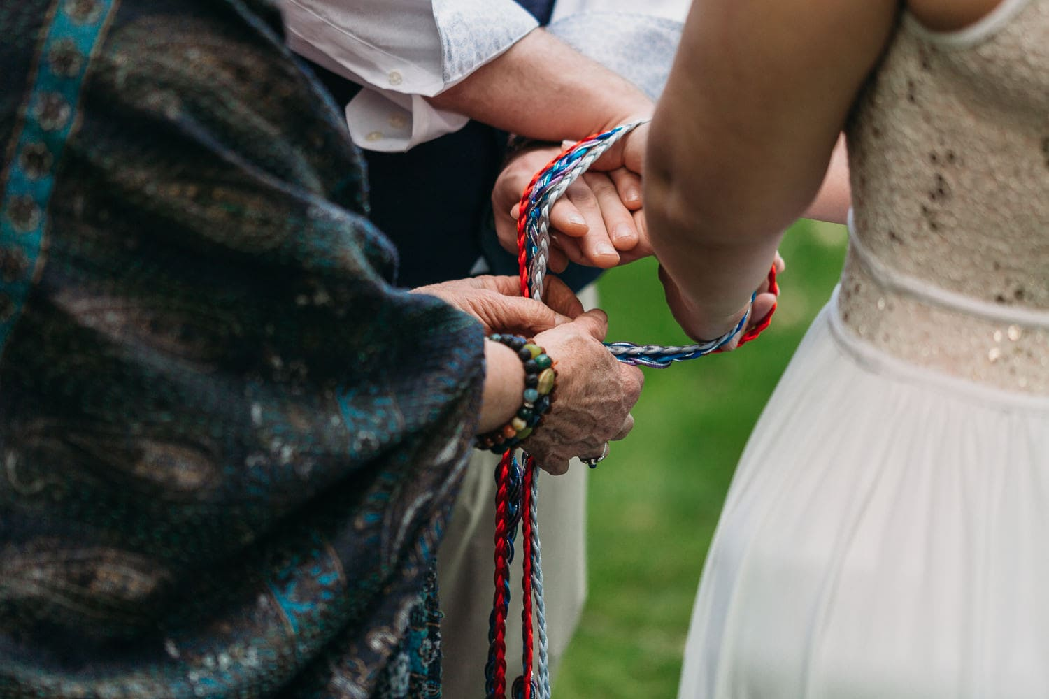 vancouver hand-fasting wedding ceremony