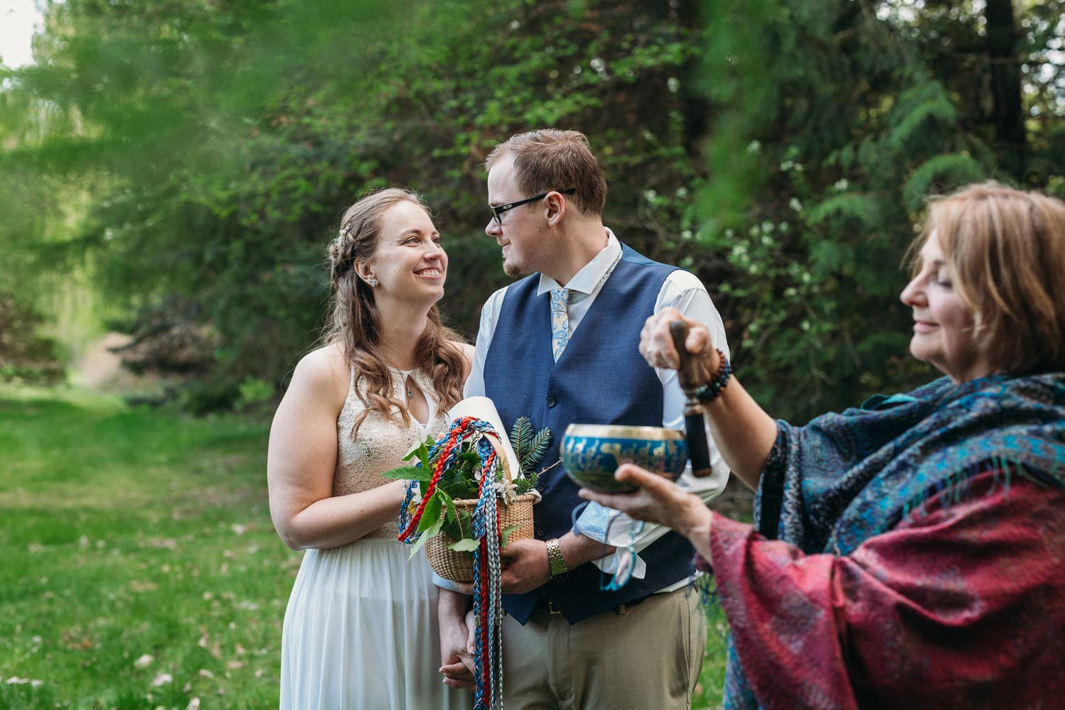 vancouver elopement with life threads celebrant