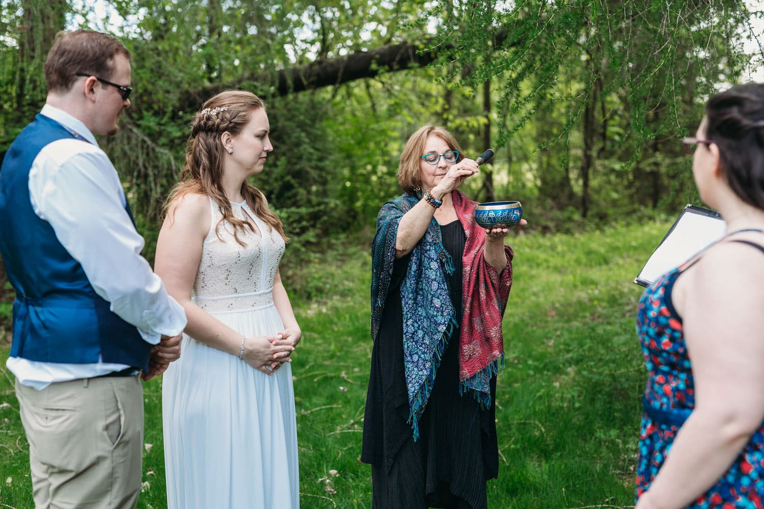 life threads celebrant abegael at campbell valley park elopement