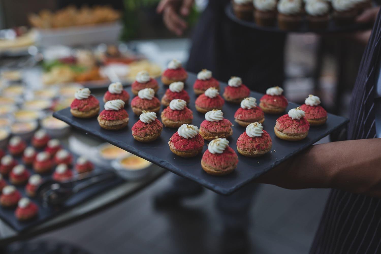 desserts at vancouver club wedding