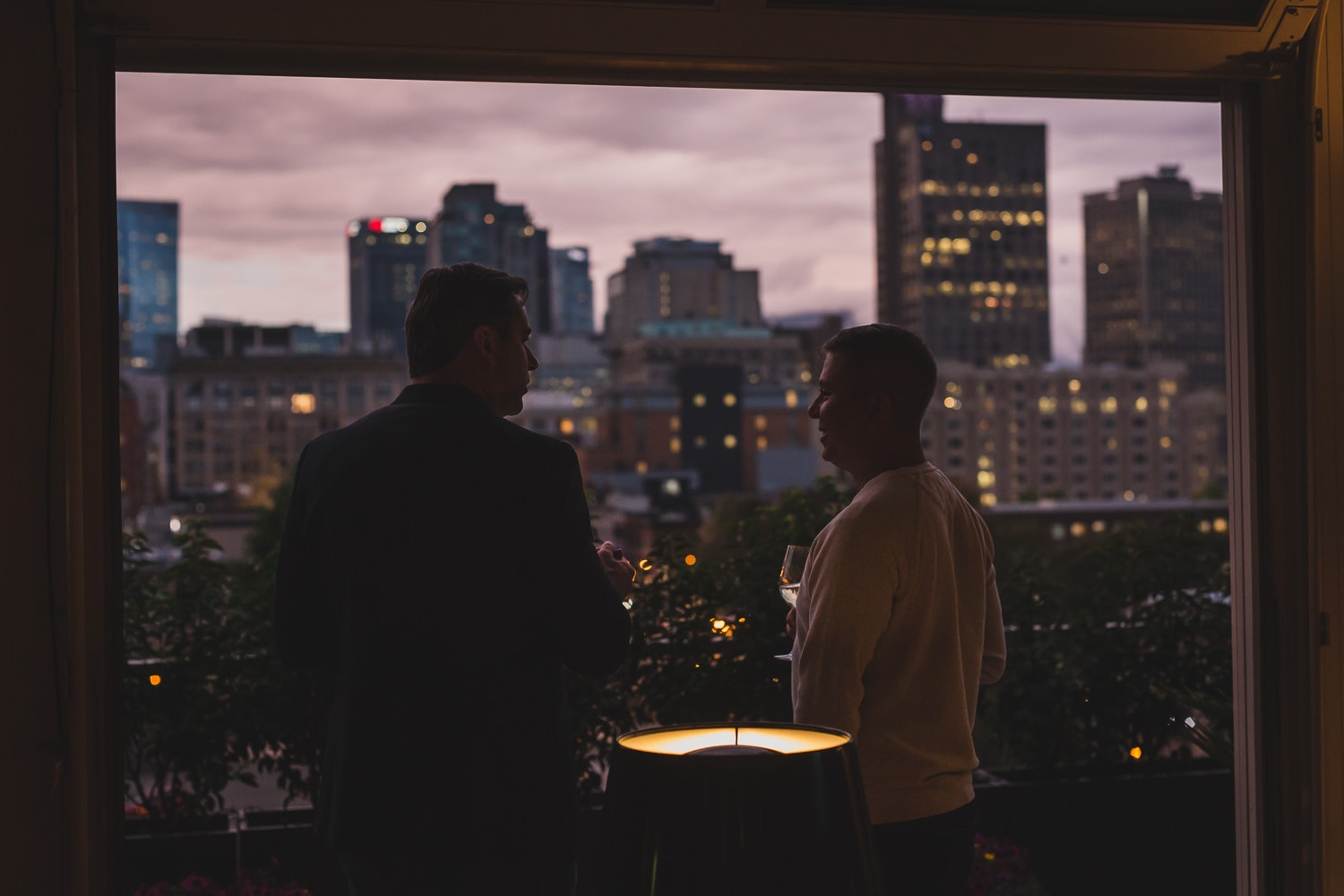 at-home wedding in vancouver