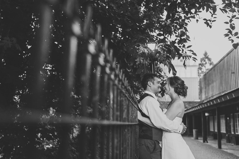 fort langley wedding photo of couple